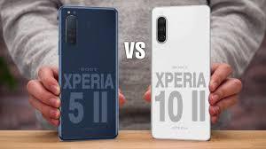 Sony Xperia 5 II و Sony Xperia 10 II