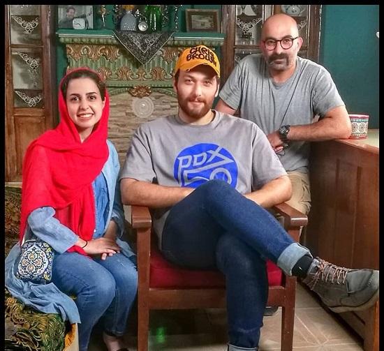 محسن در سریال احضار