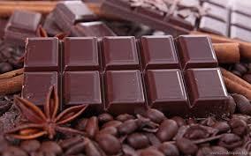 شکلات کافئین
