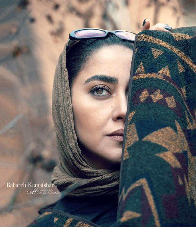 گریم سنگین بهاره کیان افشار در فیلم جدیدش
