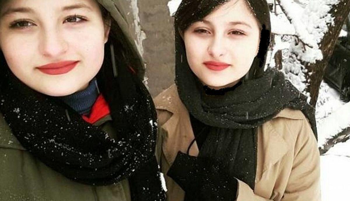 تغییر چهره سارا و نیکا در فرنگ / جدیدترین عکس های سارا و نیکا