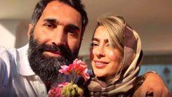 دلبری سمانه پاکدل برای همسرش + عکس جنجالی