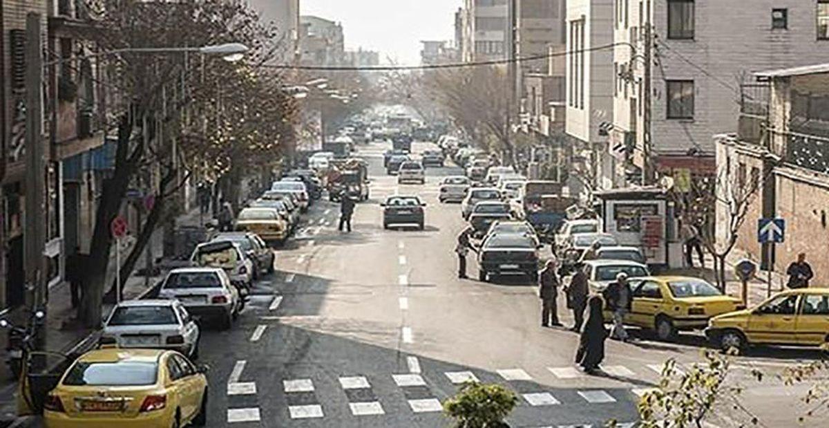 پشت پرده فیلم برهنگی زن دیوانه در خیابان پیروزی تهران