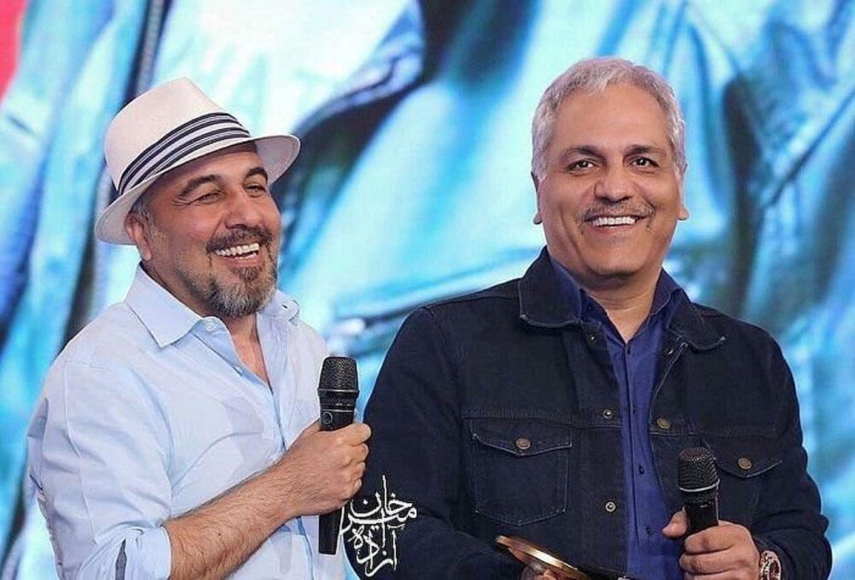 سوژه خنده مسابقه  بین مهران مدیری و رضا عطاران + کلیپ جنجالی