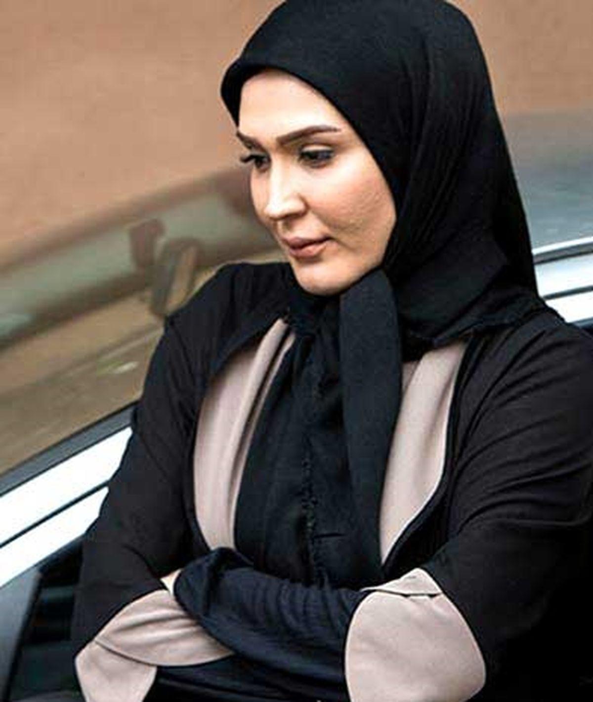 زهره فکور صبور : میگن چرا عکس نمیزاری ؟ / عکس فوق لاکچری از زن بازیگر