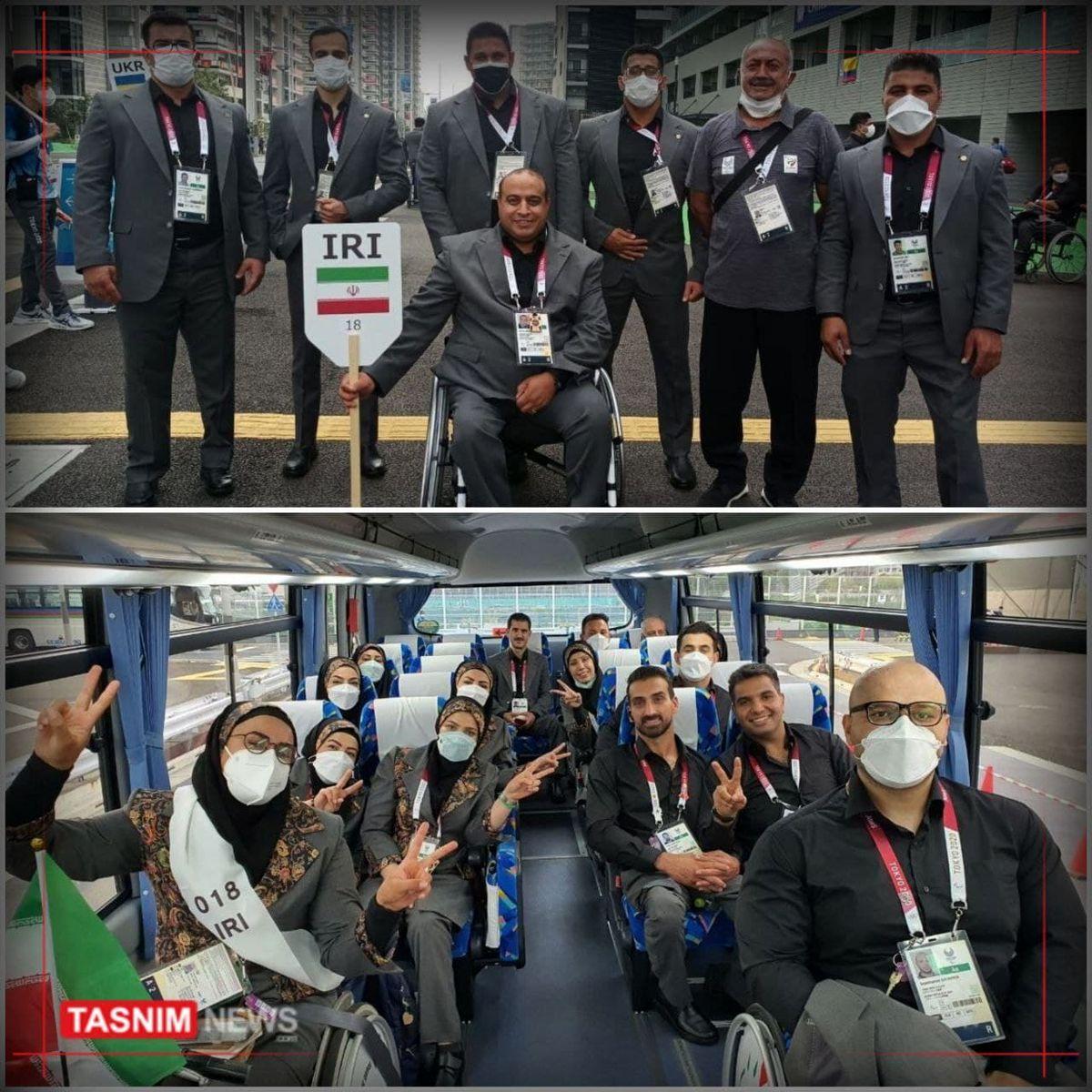 لباس کاروان ایران در افتتاحیه پارالمپیک چه شکلی است؟