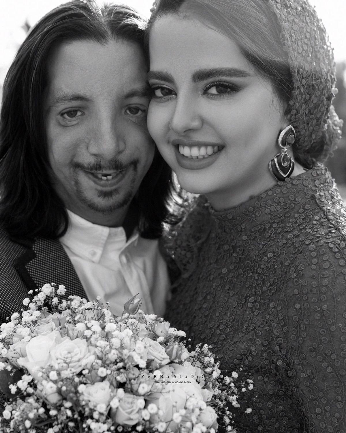 جشن تولد فرهاد ایرانی در کنار همسرش مهسا /  فرهاد ایرانی کیست ؟
