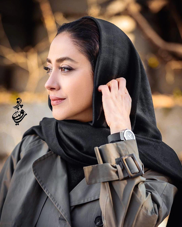 استایل جدید بهاره کیان افشار در مقابل لنز دوربین