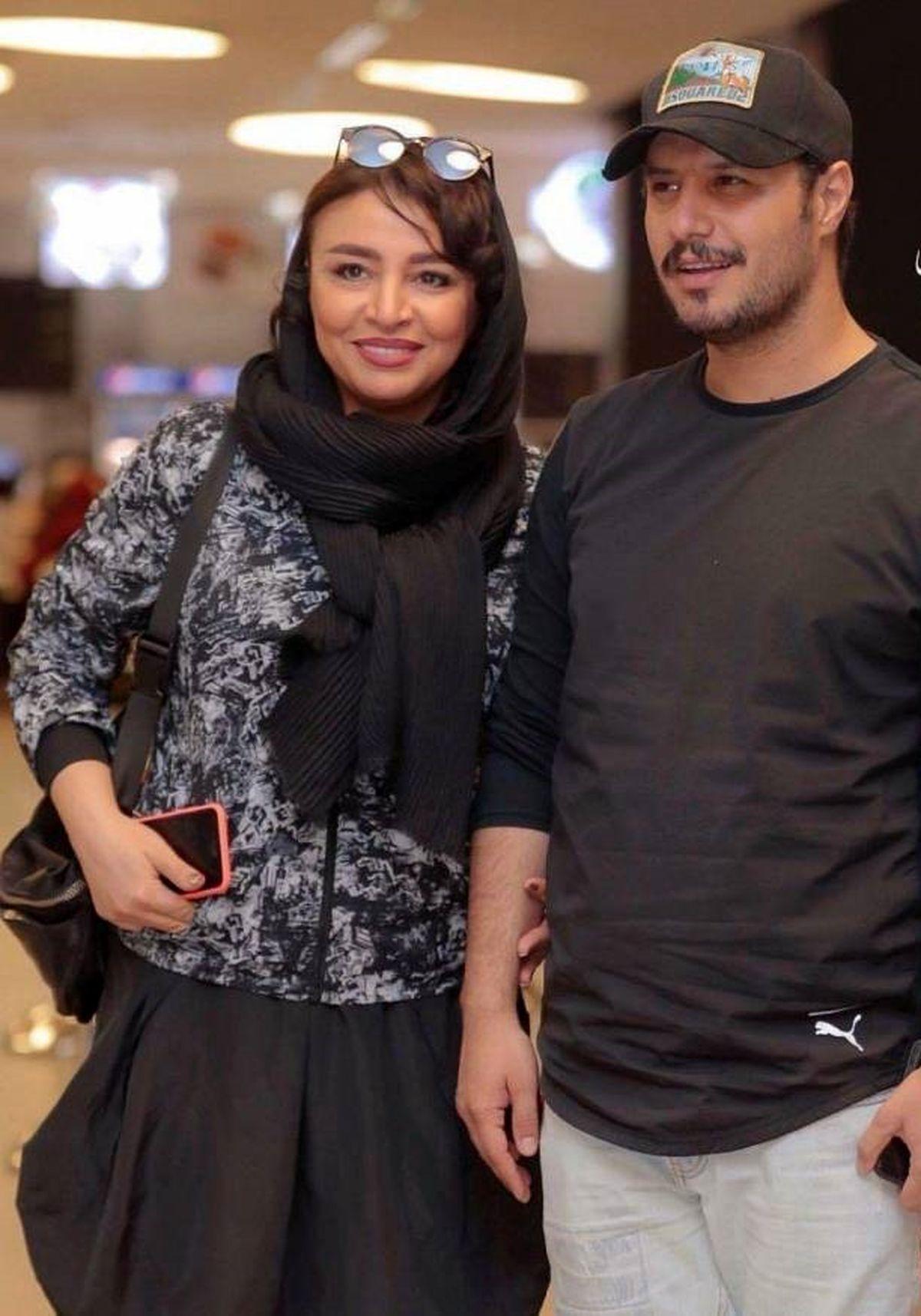 جواد عزتی و همسرش مه لقا باقری+ عکس های عاشقانه