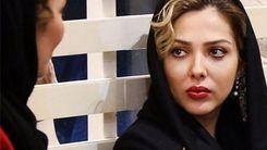 لیلا اوتادی با لباس خانگی