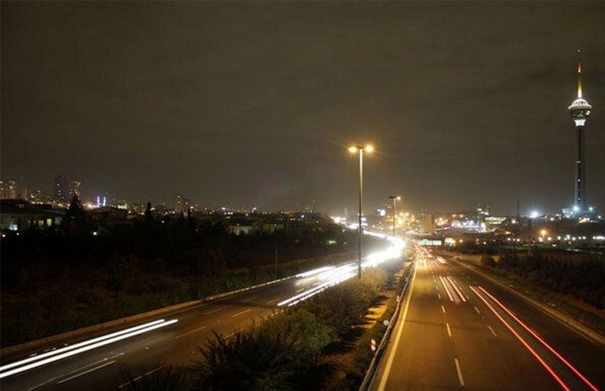 وضعیت ممنوعیت تردد شبانه در 6 روز تعطیلی