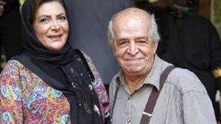 محسن قاضیمرادی و همسرش مهوش وقاری