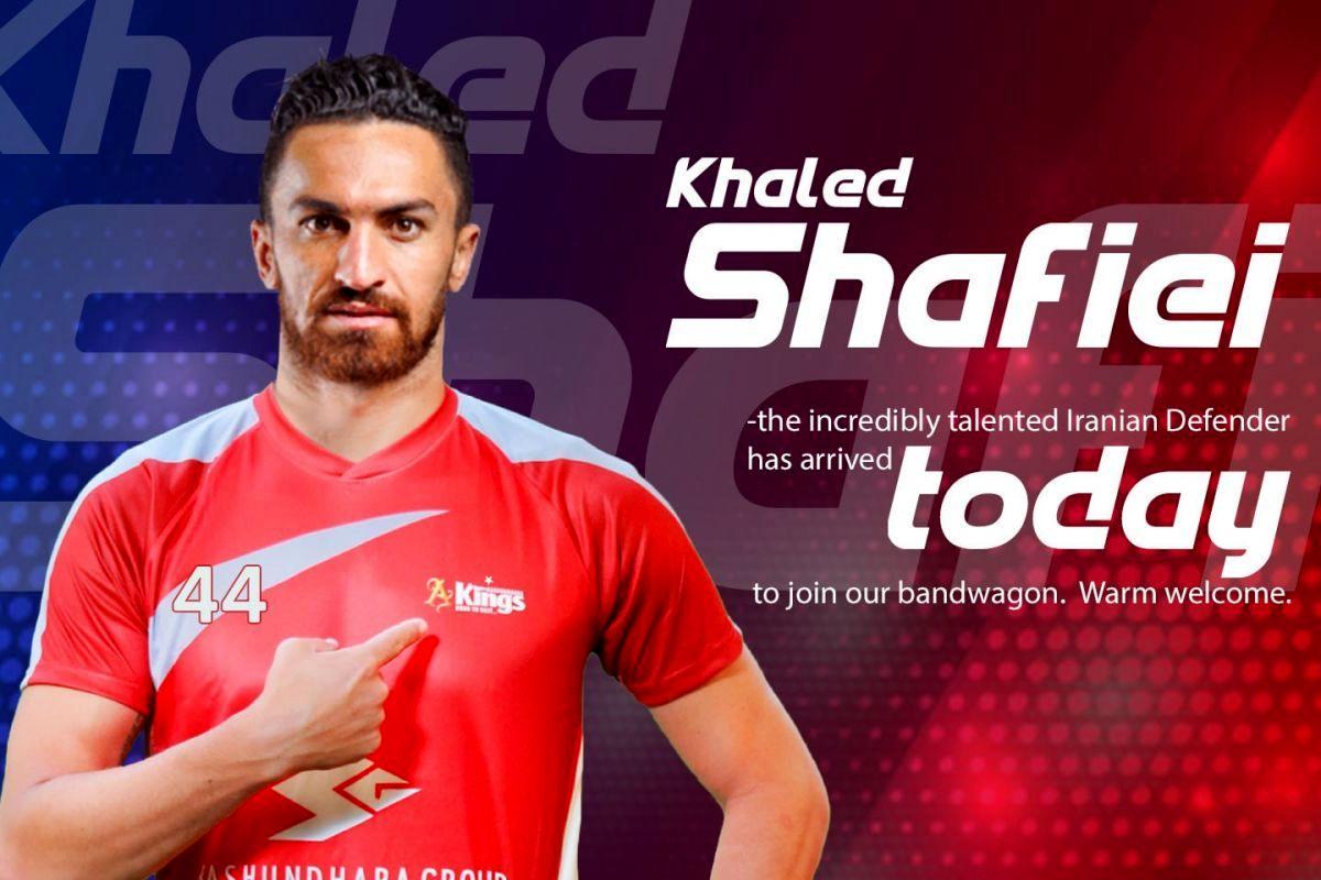 خالد شفیعی از همسرش رونمایی کرد