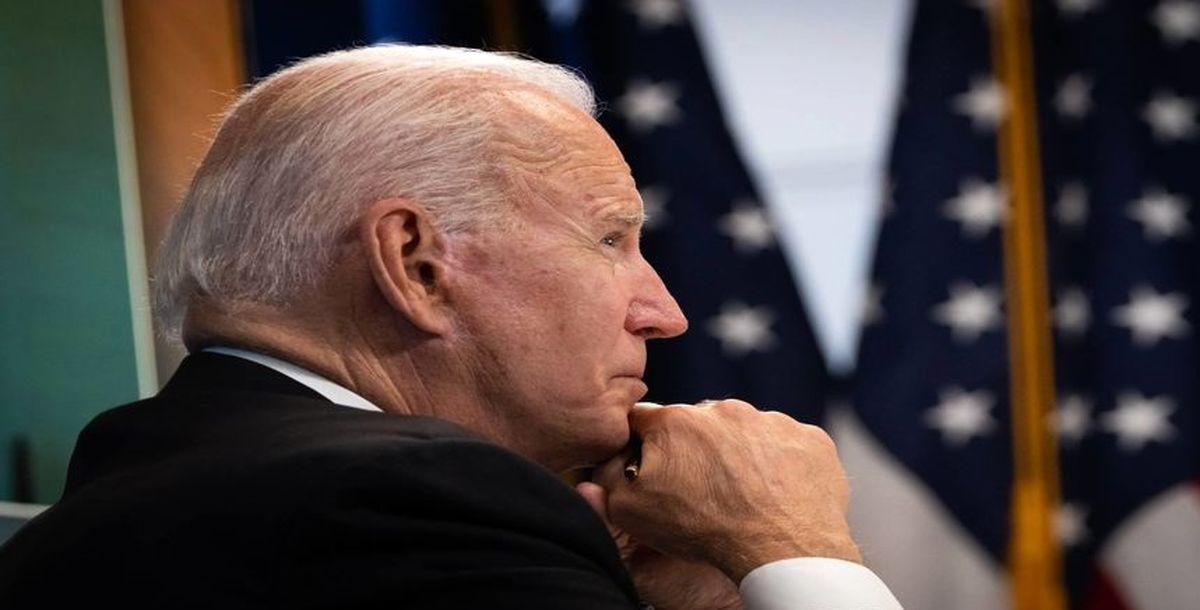 حرکت زشت جو بایدن با همسرش سوژه شد