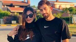 اتفاق جالب برای زن و شوهر ملی پوش فوتبال ایران علی قلی زاده و همسرش