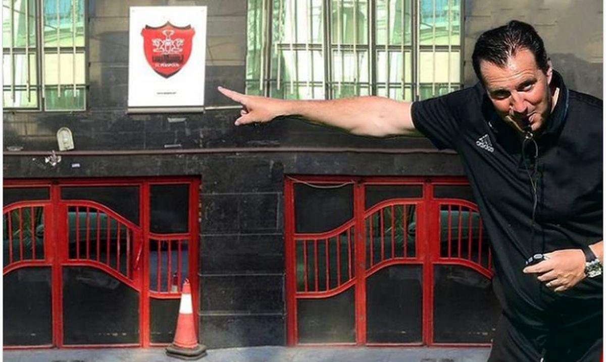 میراث شوم ویلموتس؛ ۳ دونگ از ساختمان باشگاه پرسپولیس در گرو شستا قرار گرفت