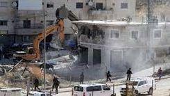 تخریب منازل فلسطینیها به دست صهیونیستها