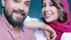 دابسمش جنجالی بابک جهانبخش در کنار همسرش