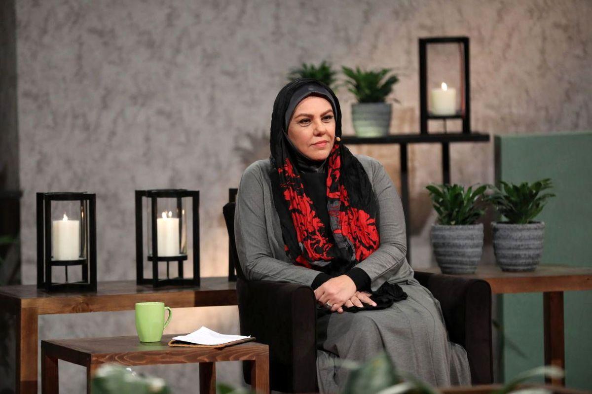 عکس عاشقانه افسانه چهره آزاد بازیگر سریال « احضار » در کنار همسرش