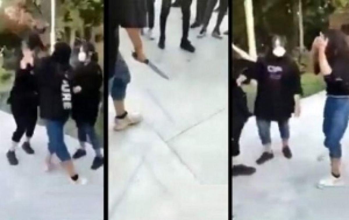 هلیا دختر قمه کش مجازات می شود+ فیلم