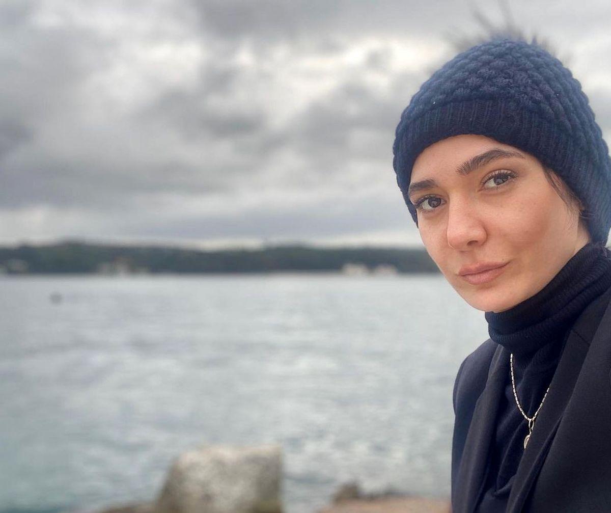 عکس بدون میکاپ مینا وحید بازیگر سریال افرا