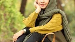 عکس جنجالی شبنم قلی خانی در پاییز + عکس دیده نشده