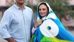 حرکت جنجالی یکتا ناصر در کنار همسر و دخترش سوفیا / عکس جنجالی