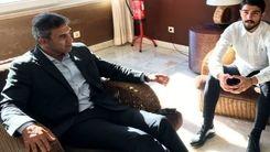 ملاقات ویژه فردوسیپور با عابدزاده