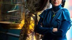 آلمانی حرف زدن ترانه علیدوستی راجب لیلا حاتمی + ویدئو