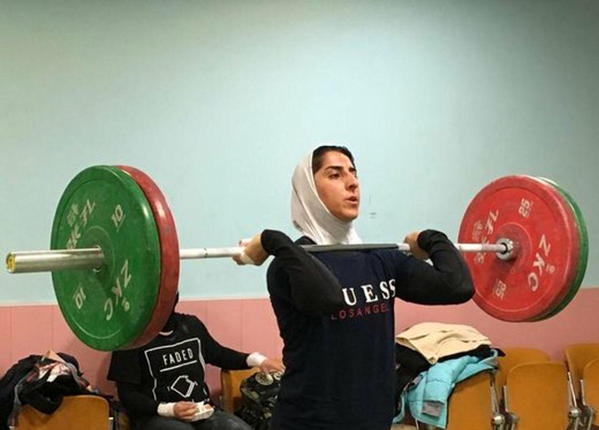 واکنش جالب الهام حسینی قهرمان وزنه برداری ایران به مصاحبه جنجالی داریوش ارجمند