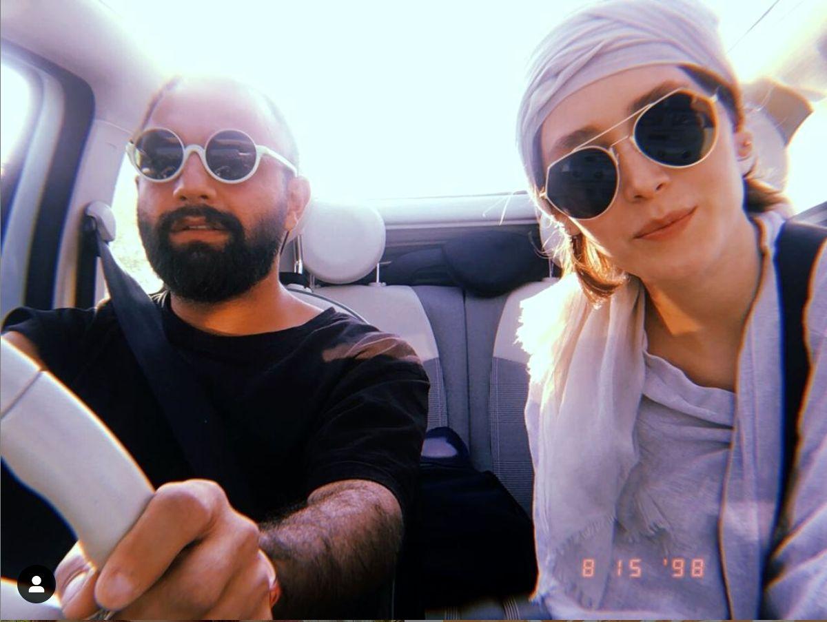 خبر سفر عاشقانه فرشته حسینی و نوید محمدزاده در فضای مجازی پر شد / عکس جنجالی