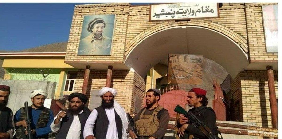 اولین عکس از رهبر طالبان بعد از بازگشت
