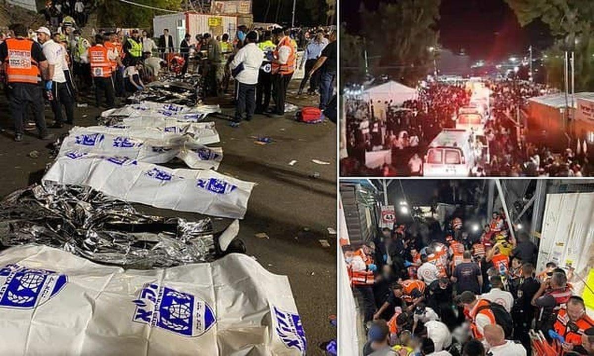 فاجعه ای که در اسرائیل رخ داد + فیلم