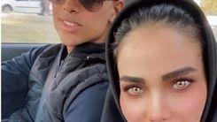 دور دور زن و مادر زن مهدی قایدی در خیابان + عکس