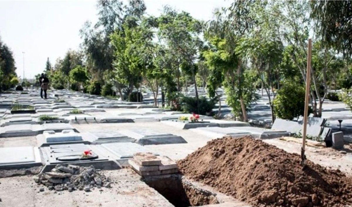 قبرستان جدید در تهران / آرایش بحرانی بهشت زهرا با کشته های فجیع کرونا