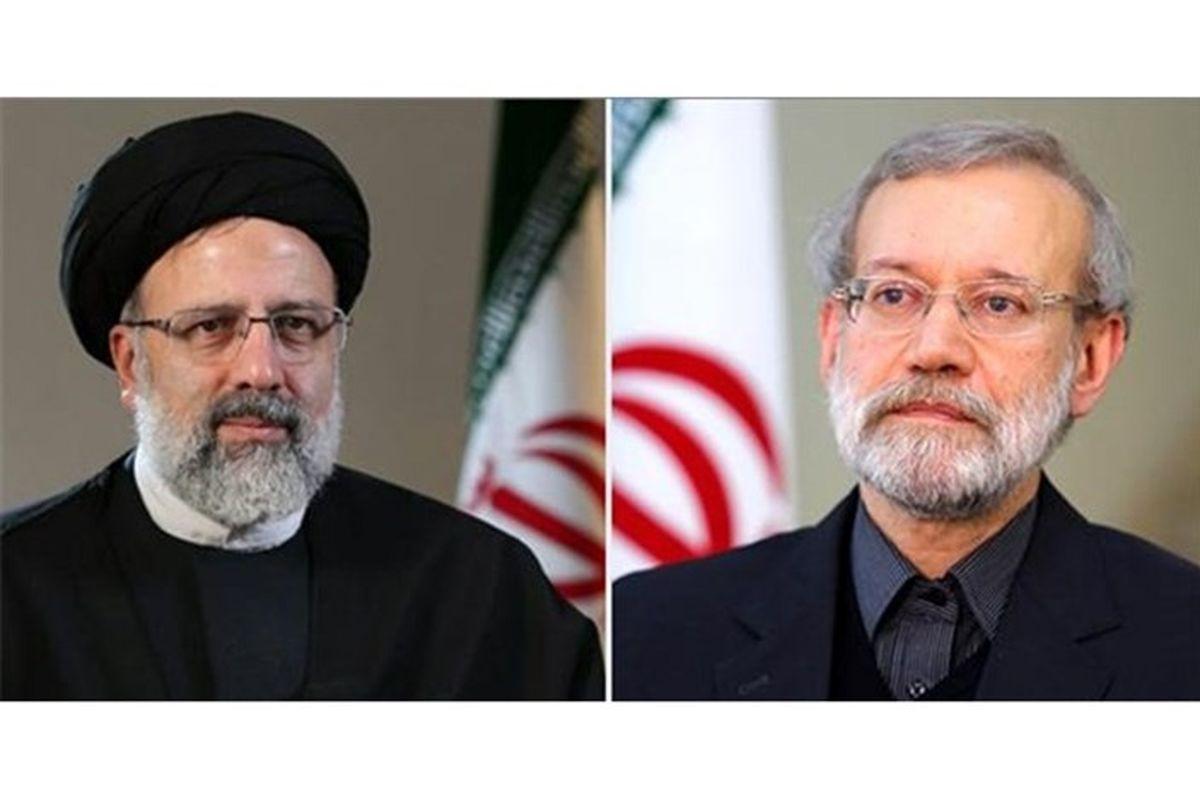 لاریجانی یا رئیسی؛ یکی در انتخابات ۱۴۰۰