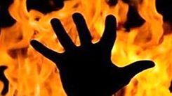 زنده زنده سوختن مرد رشتی در میان شعله های آتش