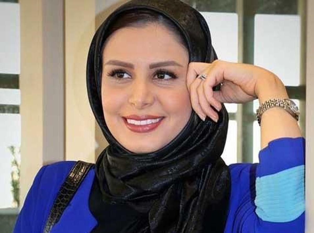 نجمه جودکی مجری معروف تلویزیون  از همسرش رونمایی کرد / تصاویر