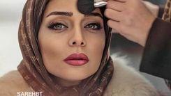 اولین عکس دو نفره ساره بیات و همسرش علیرضا