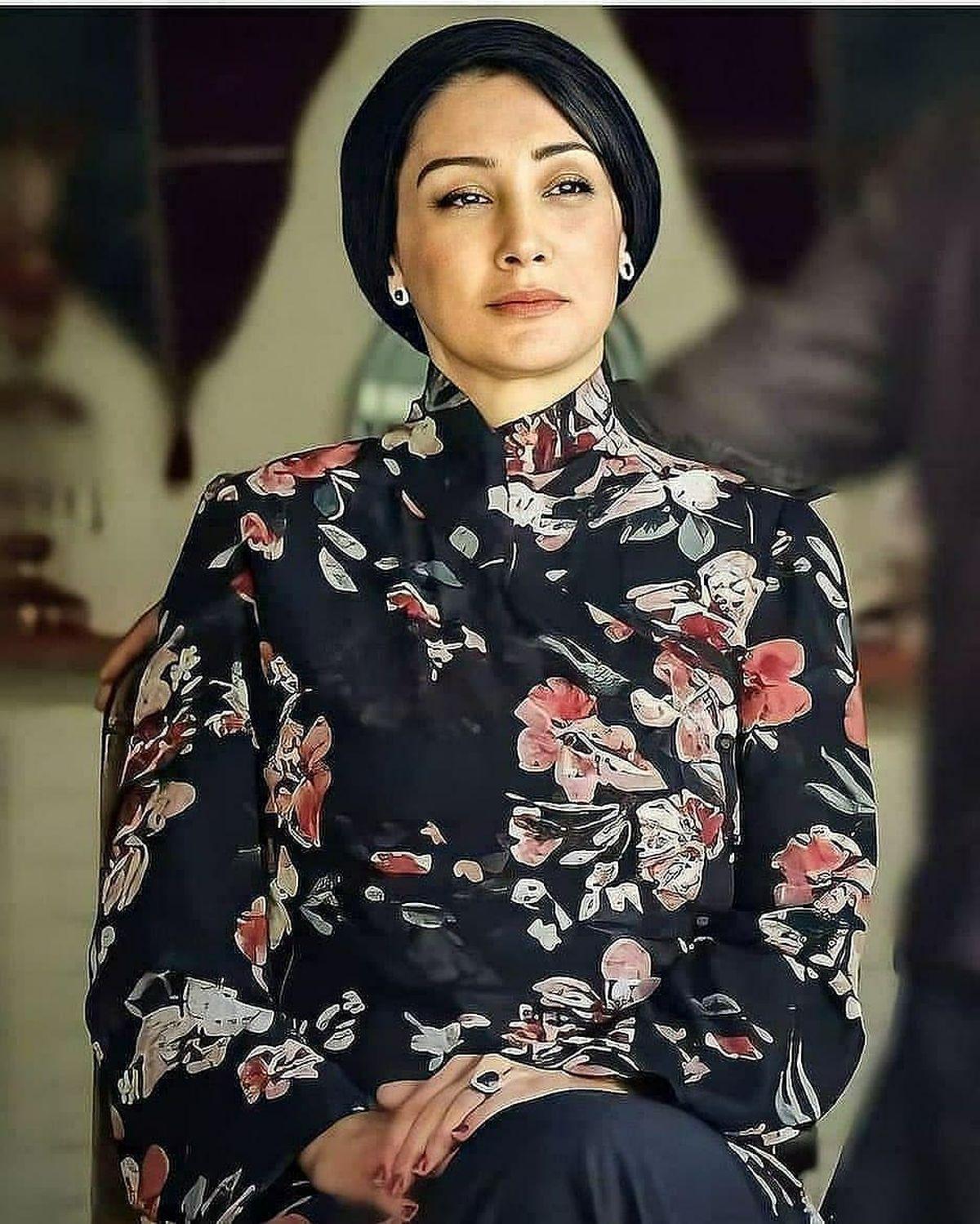 چهره شکسته هدیه تهرانی / عکس