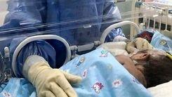 کرونا جان نوزاد 7 ماهه را گرفت