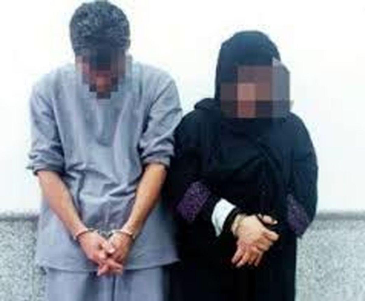 پرستار خانگی در خلوت وحید پسر زن بی نوا بازداشت شد