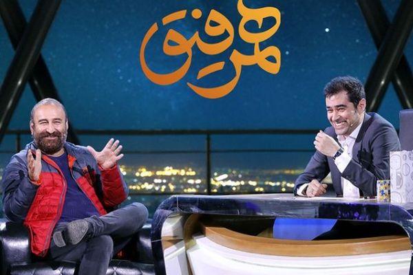 تیکه شهاب حسینی به روحانی در برنامه همرفیق + ویدئو