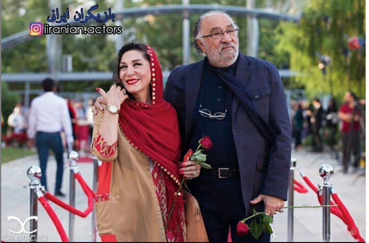 تولد داریوش ارجمند در کنار همسرش + عکس لورفته