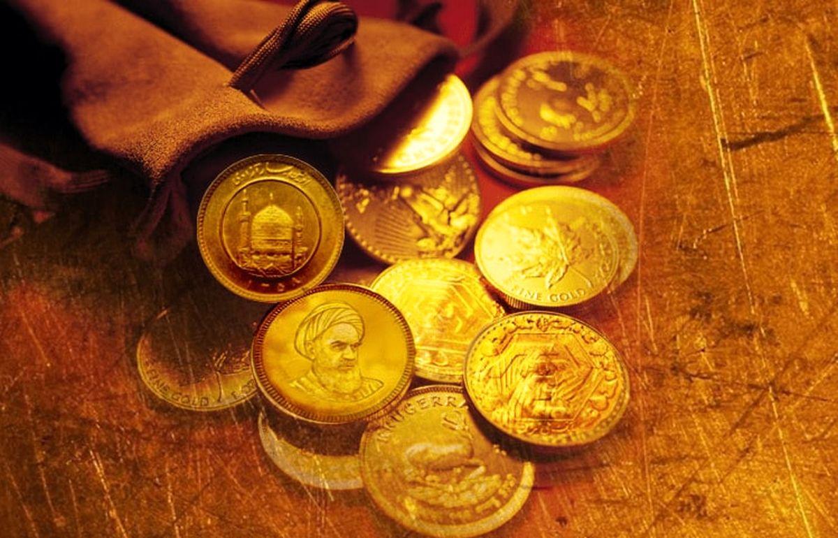 قیمت سکه در بازار امروز (۱۴۰۰/۰۳/۱۸)