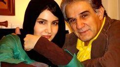 عاشقانه های مهدی هاشمی در کنار همسر دومش + تصاویر جنجالی
